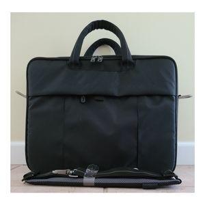 📁Dell Black Nylon Notebook Laptop Carry Cas… NWOT